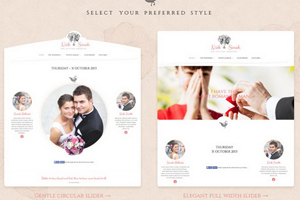 wedding day website